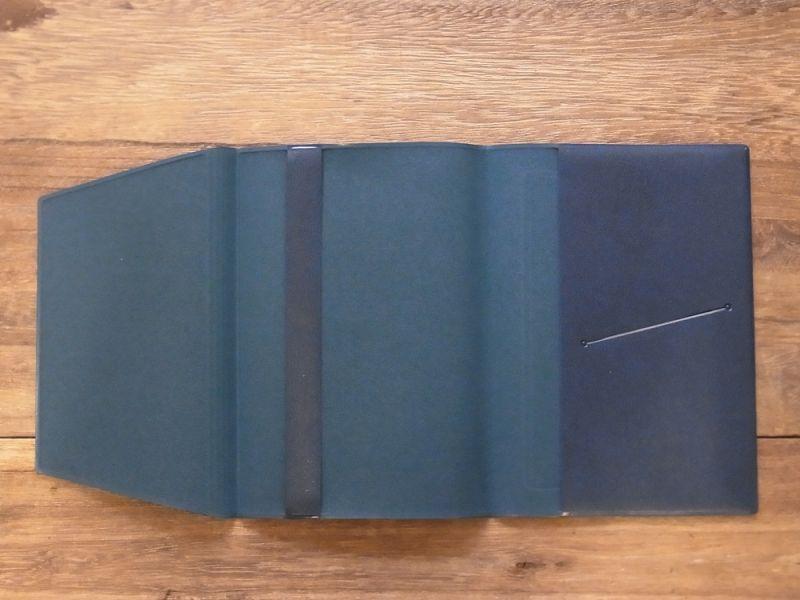 画像5: 【ネコポスOK】 きょうの一冊 ブックカバー ブルー