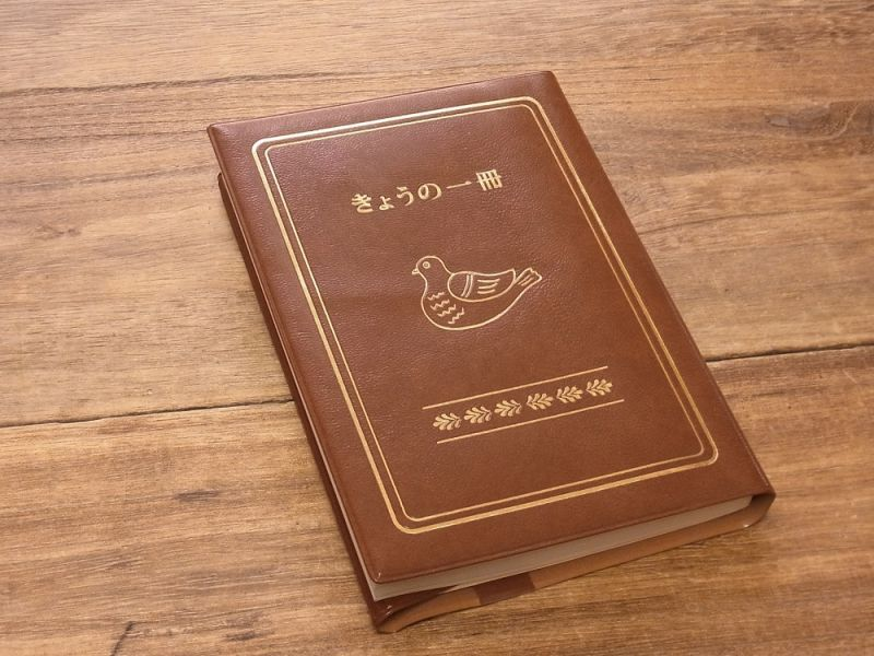 画像2: 【ネコポスOK】 きょうの一冊 ブックカバー ブラウン