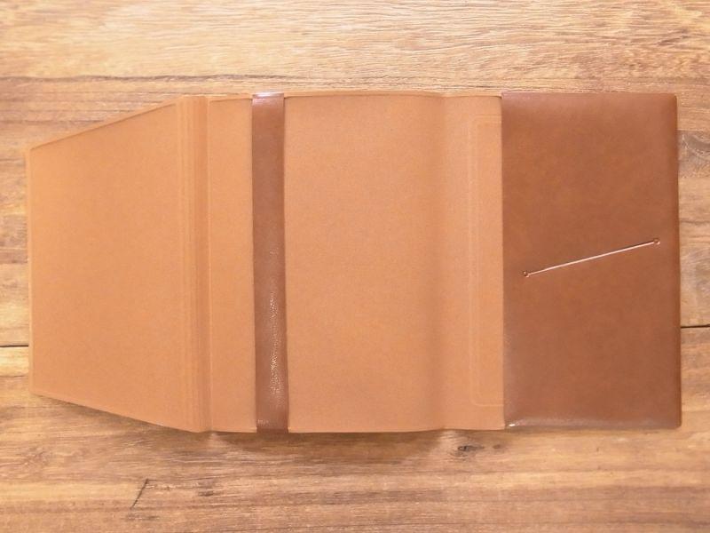 画像5: 【ネコポスOK】 きょうの一冊 ブックカバー ブラウン