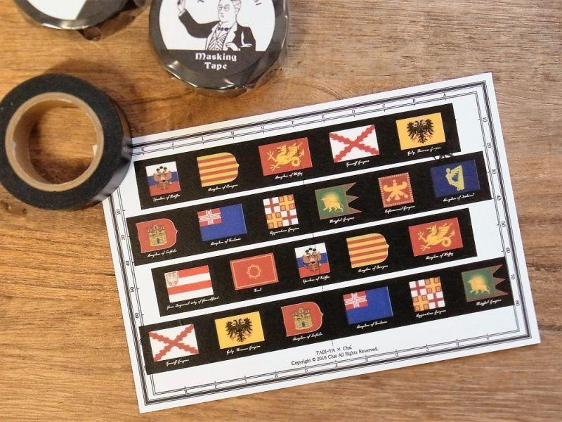 画像2: 【ネコポスOK】 旅屋オリジナル マスキングテープ old flag