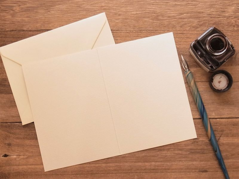 画像2: 【ネコポスOK】 アメリカ CAVALLINI/カバリーニ グリーティングカード(2つ折り) Whale Chart
