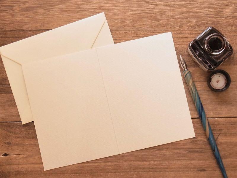 画像2: 【ネコポスOK】 アメリカ CAVALLINI/カバリーニ グリーティングカード(2つ折り) Thank You Lady
