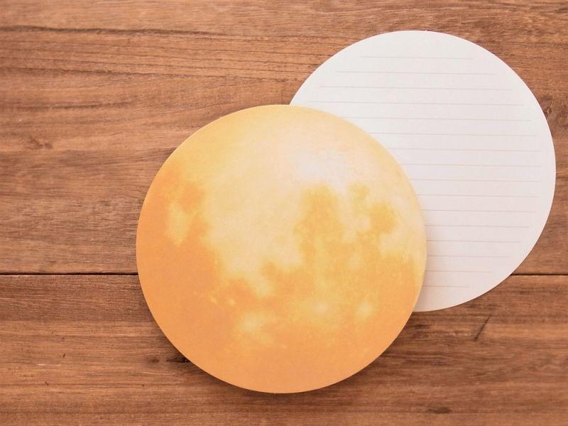 画像2: 【ネコポスOK】 月のレターセット 望月