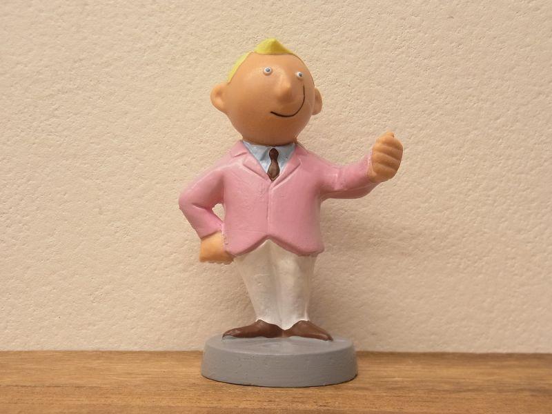 画像2: 【ネコポスNG】 ドイツ ALFI社 紳士ペンスタンド ピンク