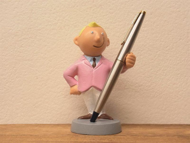画像1: 【ネコポスNG】 ドイツ ALFI社 紳士ペンスタンド ピンク