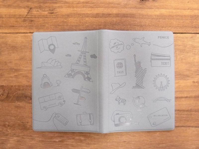 画像2: 【ネコポスOK】 パスポートカバーS ブルー