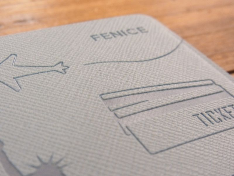 画像5: 【ネコポスOK】 パスポートカバーS ブルー