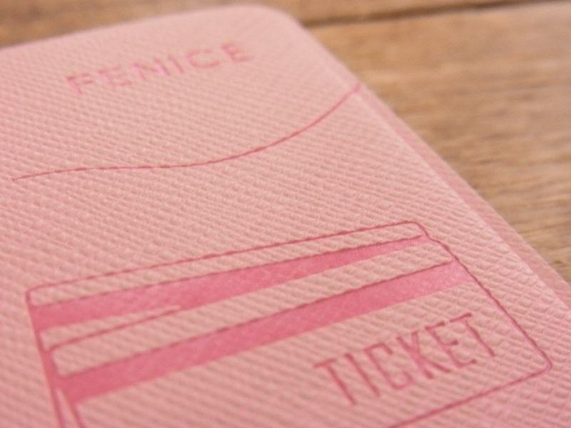画像5: 【ネコポスOK】 パスポートカバーS ピンク
