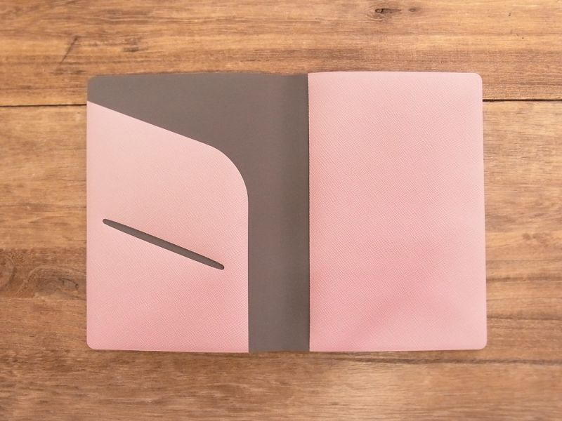 画像3: 【ネコポスOK】 パスポートカバーS ピンク