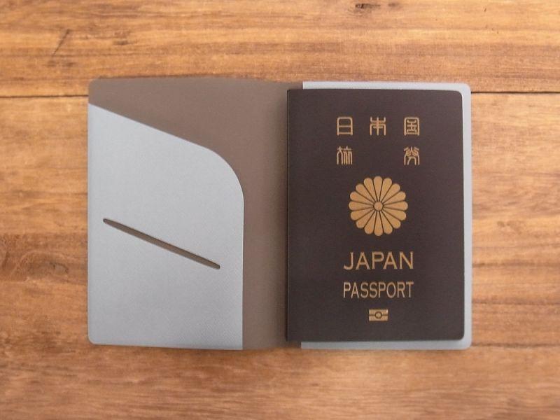 画像4: 【ネコポスOK】 パスポートカバーS ブルー