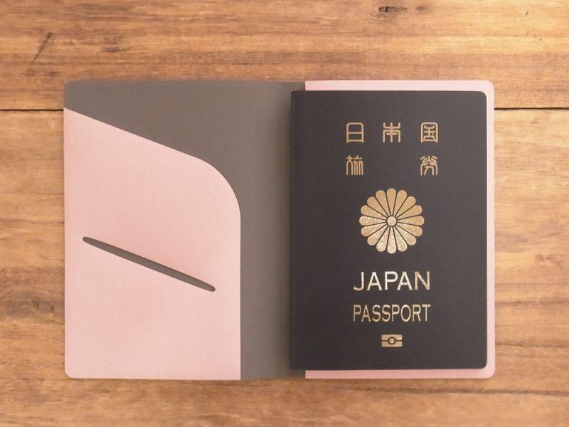 画像4: 【ネコポスOK】 パスポートカバーS ピンク