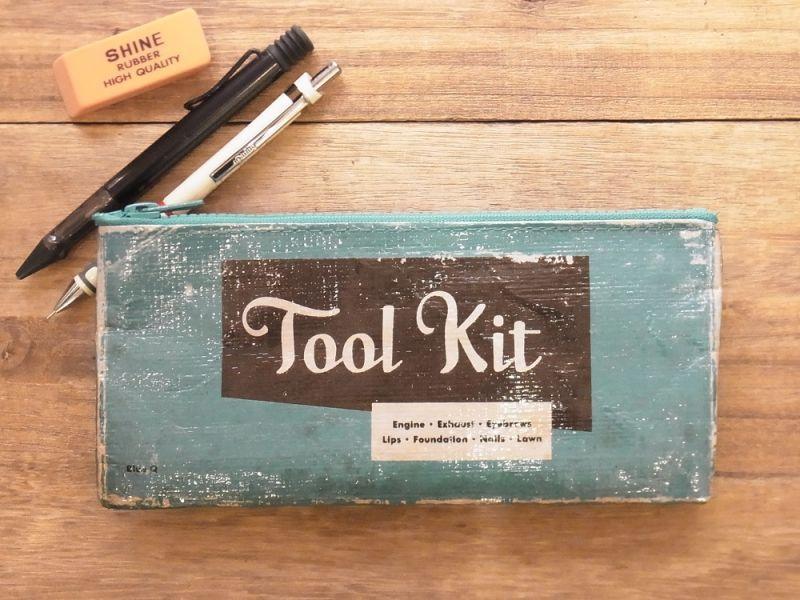 画像3: 【ネコポスOK】 アメリカ Blue Q/ブルーキュー ペンケース Tool kit