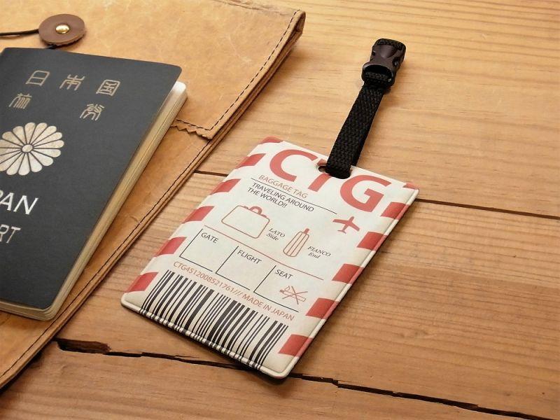 画像1: 【ネコポスOK】 RETRO AIRLINE DESIGN BAGGAGE TAG/ラゲッジタグ フライトタグA
