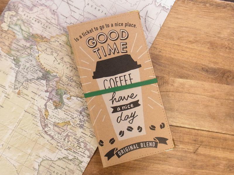 画像1: 【ネコポスOK】 チケットホルダー COFFEE