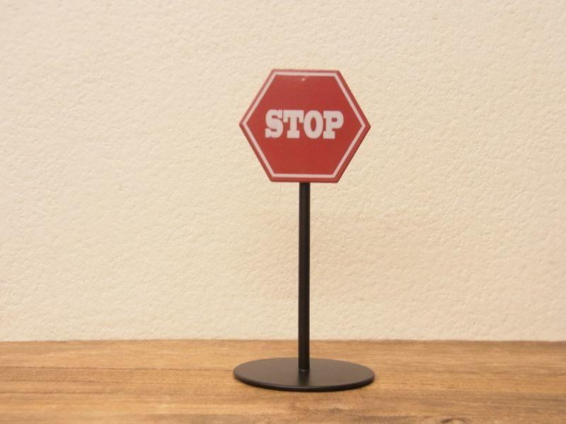 画像1: 【ネコポスNG】 メモクリップ STOP