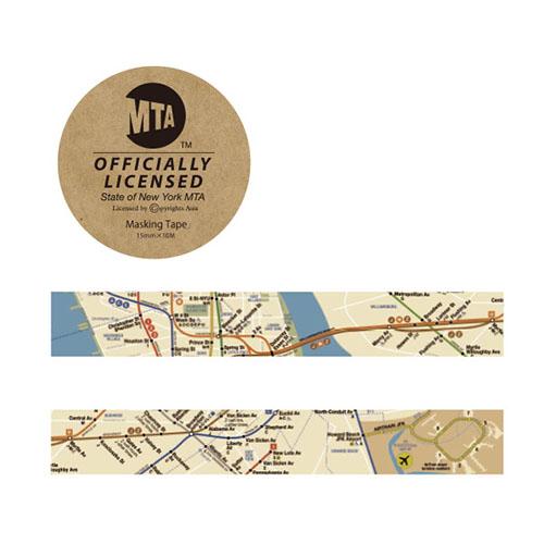画像2: 【ネコポスOK】 MTA マスキングテープ map