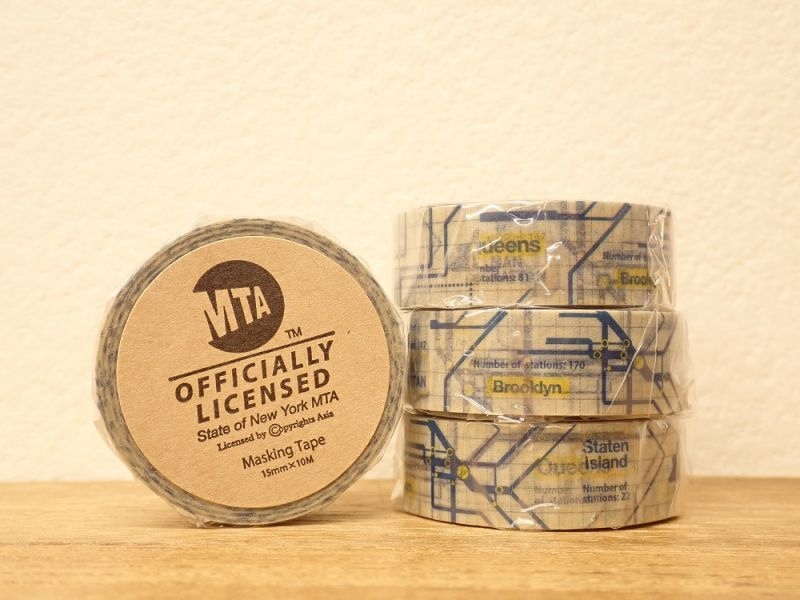 画像1: 【ネコポスOK】 MTA マスキングテープ route