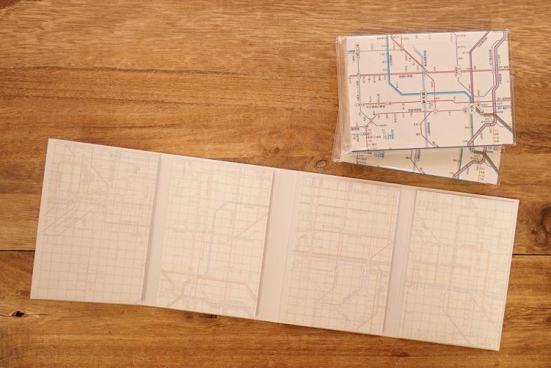 画像2: 【ネコポスOK】 鉄道路線図メモ 関西