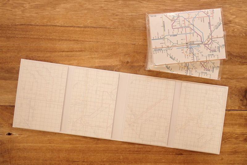 画像2: 【ネコポスOK】 鉄道路線図メモ 中部