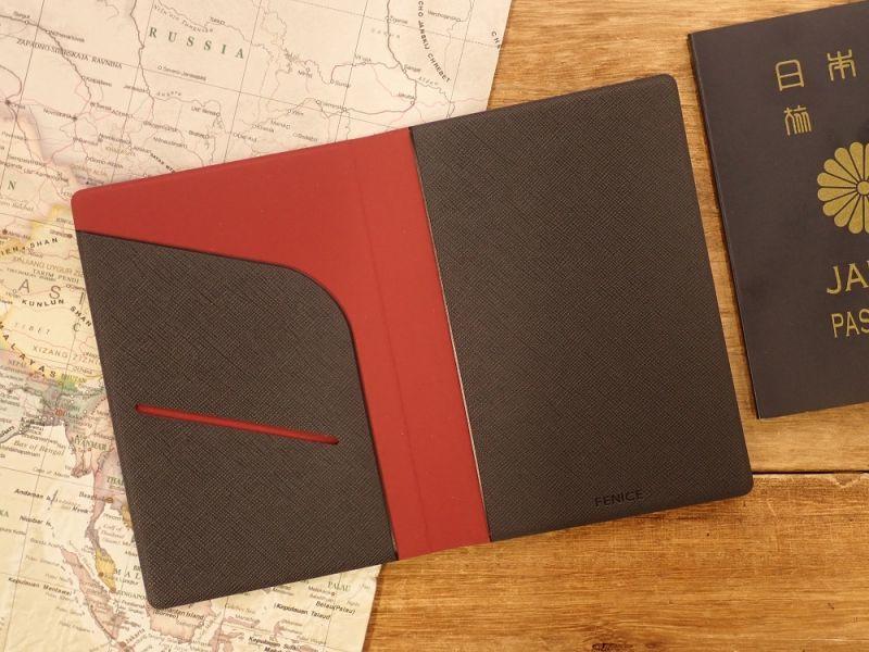 画像3: 【ネコポスOK】 パスポートカバーS ブラック