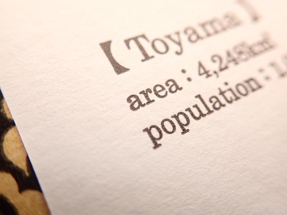 画像2: 【ネコポスOK】 旅屋オリジナル 白地図ポストカード IWATE/岩手