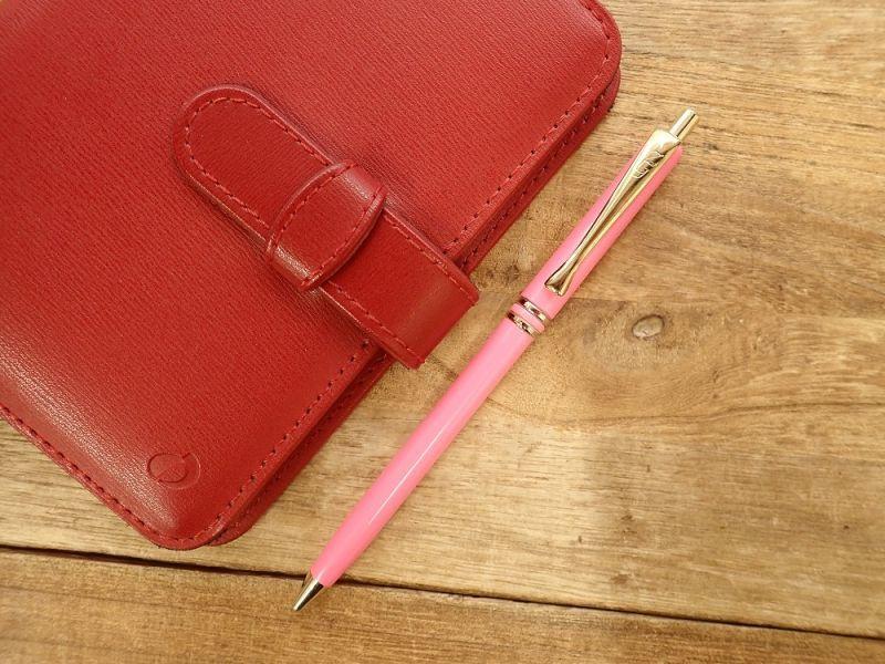 画像1: 【デットストック】【ネコポスOK】 イタリア ボールペン ピンク