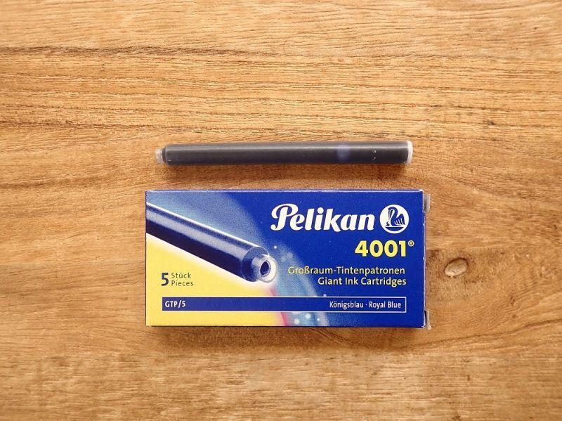 画像1: 【ネコポスOK】 Pelikan/ペリカン インクカートリッジ ロイヤルブルー