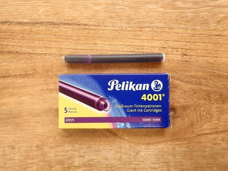 画像1: 【ネコポスOK】 Pelikan/ペリカン インクカートリッジ バイオレット