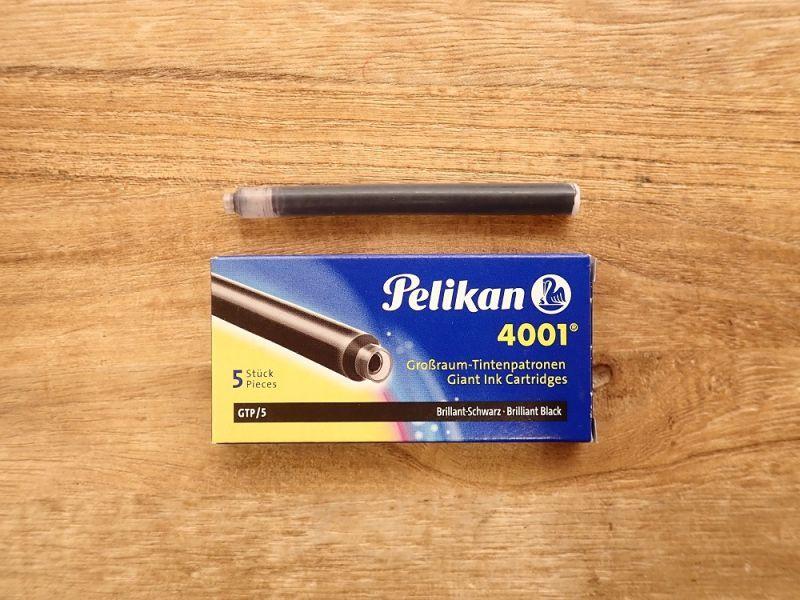 画像1: 【ネコポスOK】 Pelilan/ペリカン インクカートリッジ ブラック