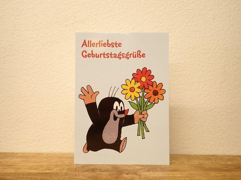 画像1: 【ネコポスOK】 ドイツ ポストカード クルテク Allerliebste Geburtstagsgrüße/最愛の誕生日のあいさつ