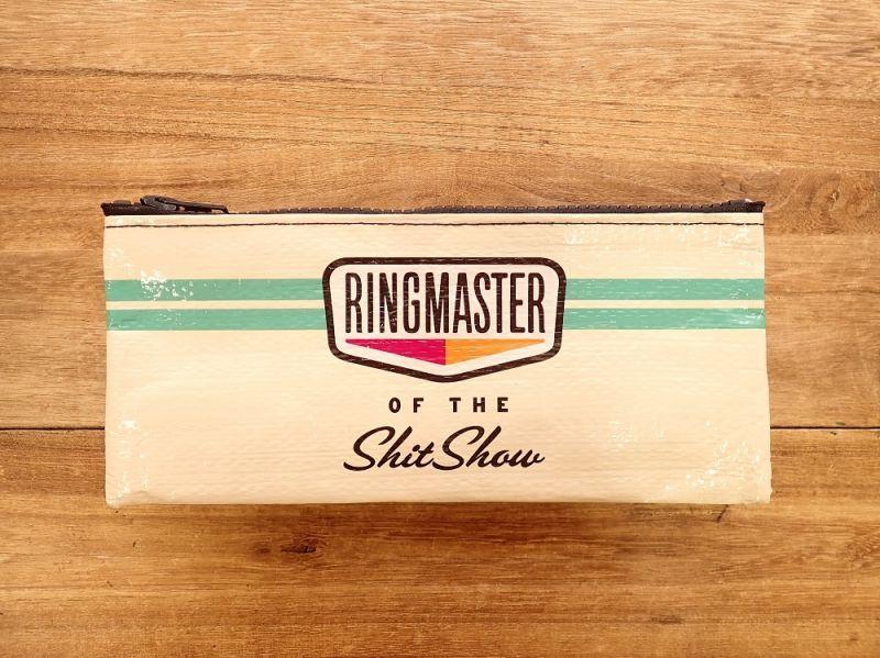 画像1: 【ネコポスOK】 アメリカ Blue Q/ブルーキュー ペンケース RINGMASTER