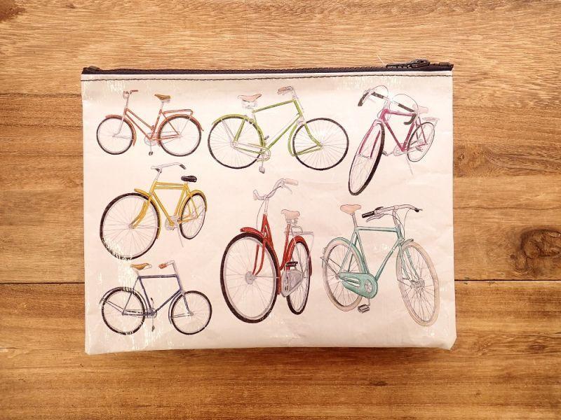 画像2: 【ネコポスOK】 アメリカ Blue Q/ブルーキュー ジッパーケース Bicycle