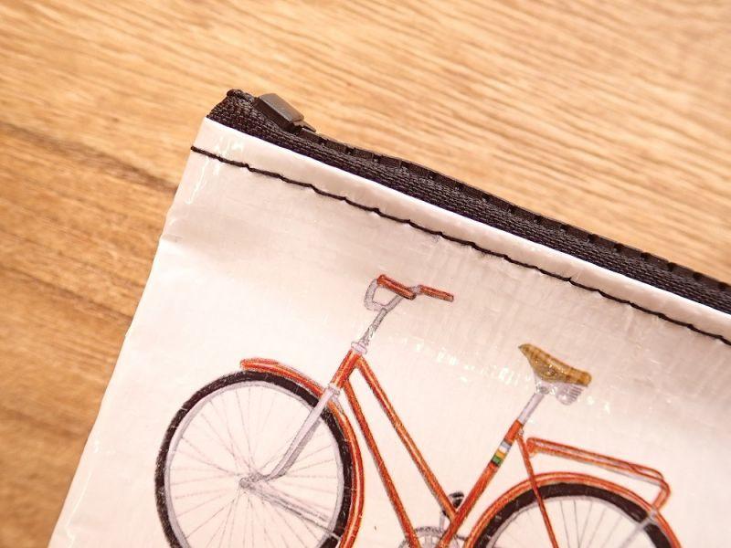 画像3: 【ネコポスOK】 アメリカ Blue Q/ブルーキュー ジッパーケース Bicycle