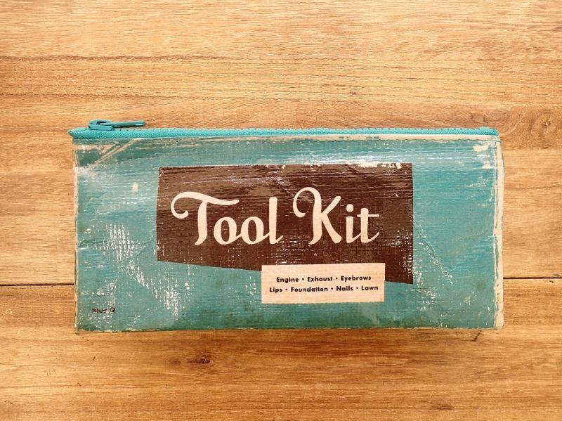 画像1: 【ネコポスOK】 アメリカ Blue Q/ブルーキュー ペンケース Tool kit