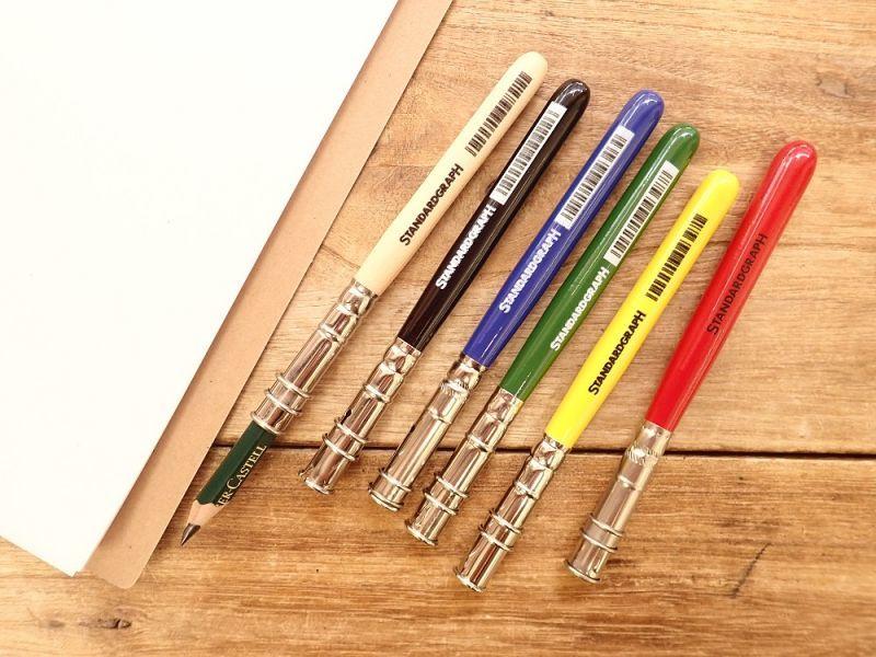 画像1: 【ネコポスOK】 ドイツ STANDARDGRAPH/スタンダードグラフ 鉛筆用補助軸