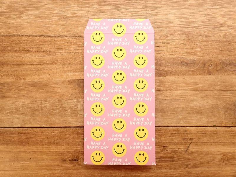 画像3: 【ネコポスOK】 ポチ袋L Smile Pink 3枚入り
