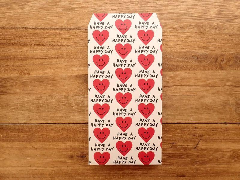 画像3: 【ネコポスOK】 ポチ袋L Heart Smile 3枚入り