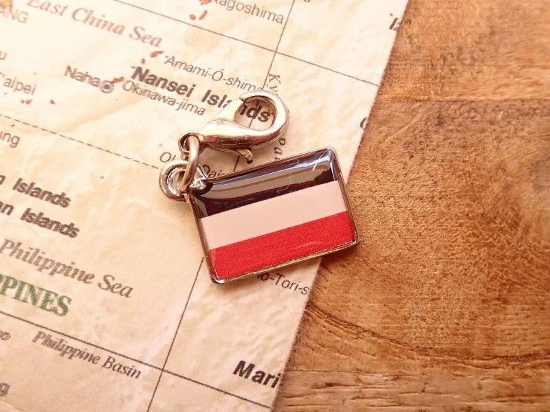 画像1: 【ネコポスOK】 世界の国旗 チャーム [ドイツ帝国] 1個