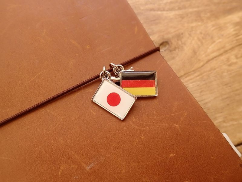 画像3: 【ネコポスOK】 世界の国旗 チャーム [ベルギー] 1個