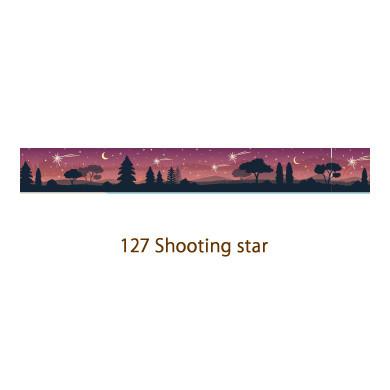 画像2: 【ネコポスOK】 decollections/デコレクションズ マスキングテープ Shooting star