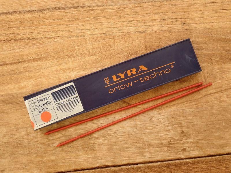 画像1: 【デッドストック】【ネコポスOK】 ドイツ LYRA/リラ 替芯2.0 赤