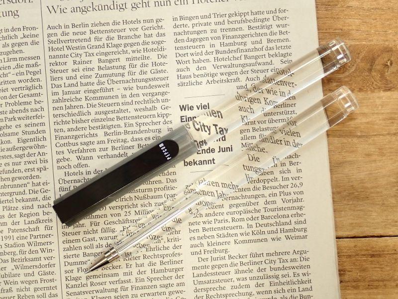 画像1: 【ネコポスOK】 レンズペン ブラック