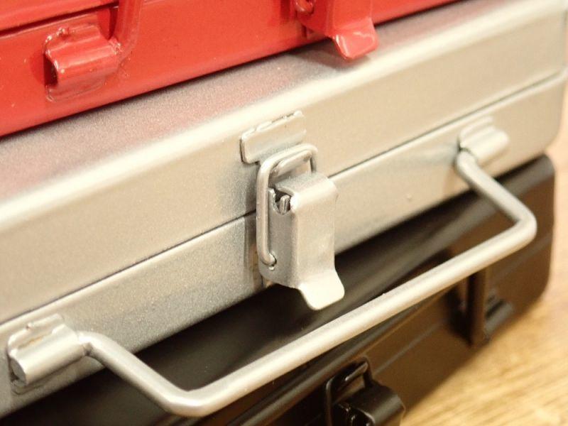 画像3: 【ネコポス△】 ブリーフケース型カードケース シルバー
