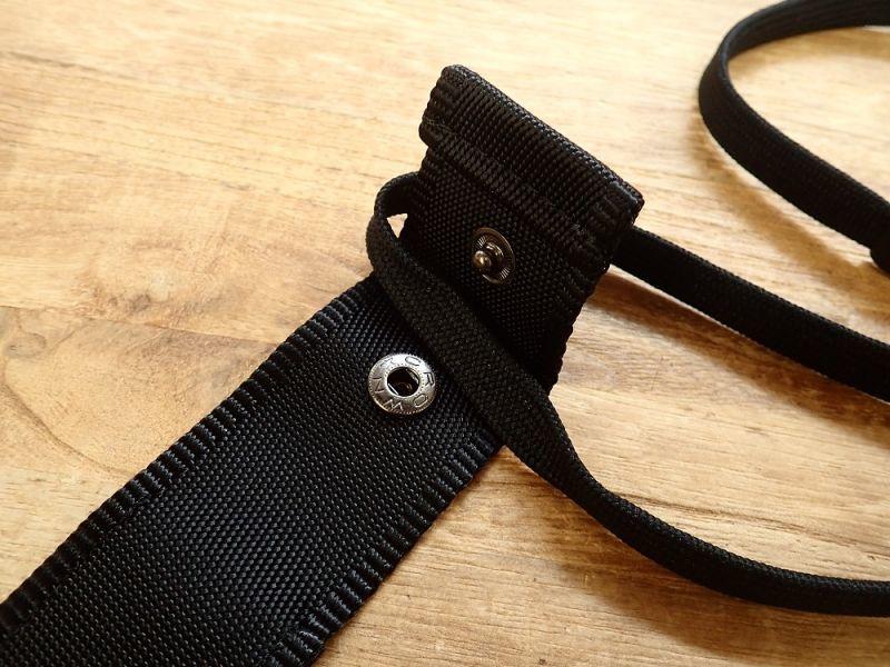 画像3: 【ネコポスOK】 ストラップ型ペンケース ペネック 黒