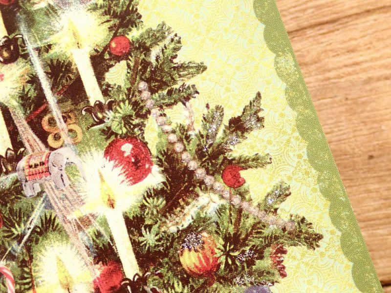 画像3: 【ネコポスOK】 イギリス ROGER LA BORDE 2つ折りカード 天使×ツリー