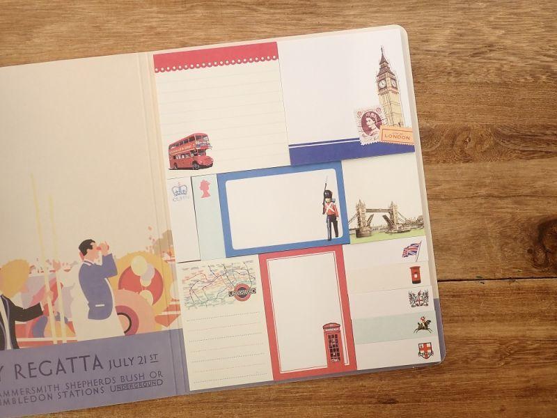 画像2: 【ネコポスOK】 sticky note set/付箋セット LONDON