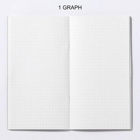 画像2: 【ネコポスOK】 PASSPORT NOTEBOOK FREE/ノート フリー GRAPH