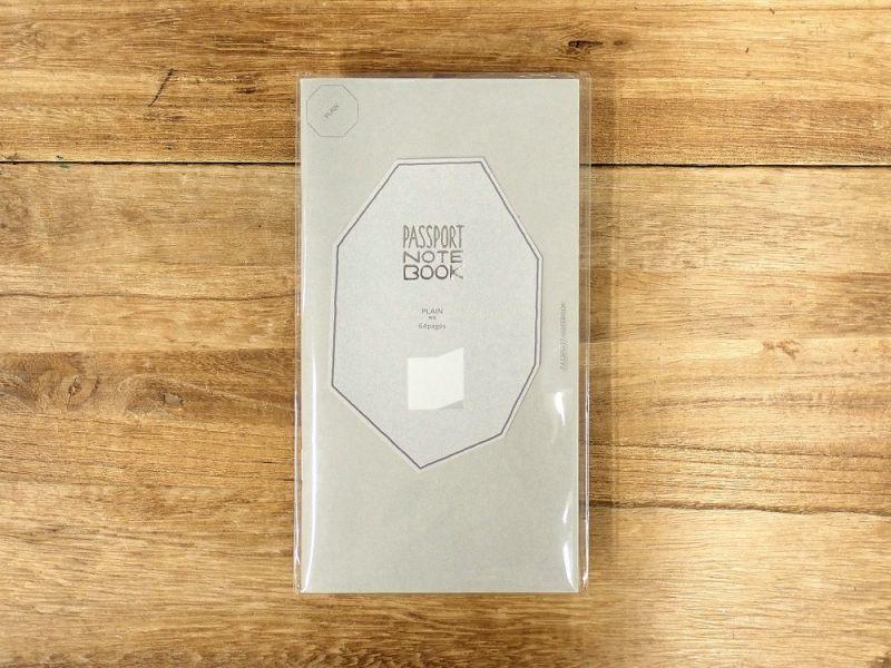 画像1: 【ネコポスOK】 PASSPORT NOTEBOOK FREE/ノート フリー PLAIN