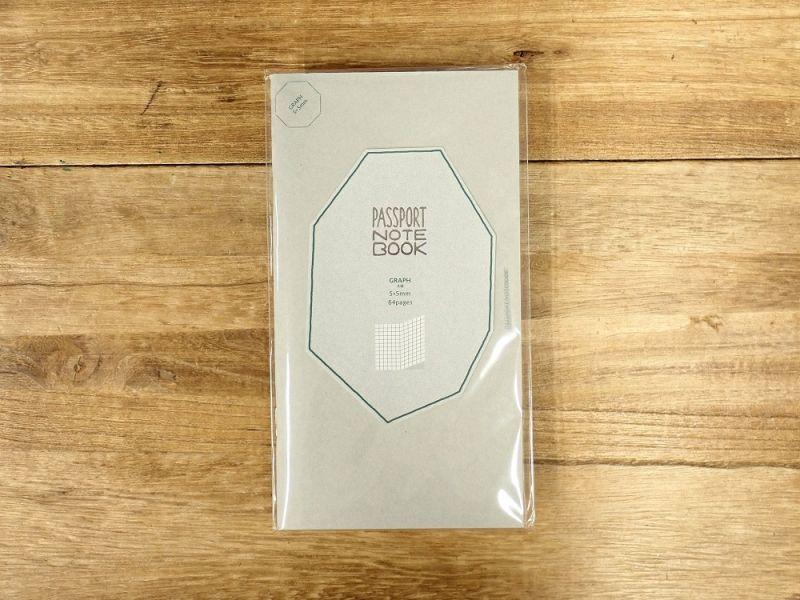 画像1: 【ネコポスOK】 PASSPORT NOTEBOOK FREE/ノート フリー GRAPH