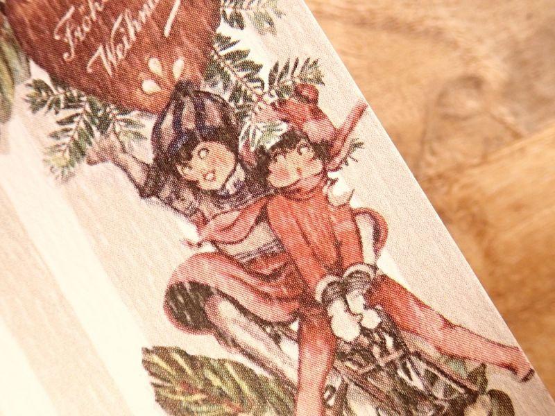 画像3: 【ネコポスOK】   ドイツ Hannelore/ハンネローレ グリーティングカード(4つ折り) Christmas Frame